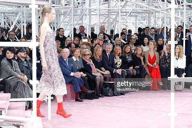 Peter Marino Baron and Baroness Albert Frere Bernadette Chirac Ambassador of USA in France Jane D Hartley Owner of LVMH Luxury Group Bernard Arnault...