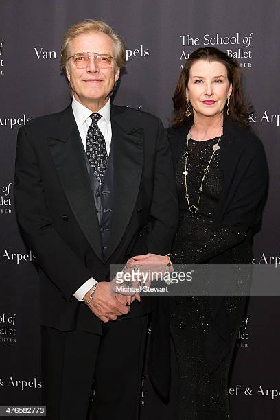 Peter Martins and Darci Kistler attend the School Of American Ballet's 2014 Winter Ball at David Koch Theatre at Lincoln Center on March 3, 2014 in...