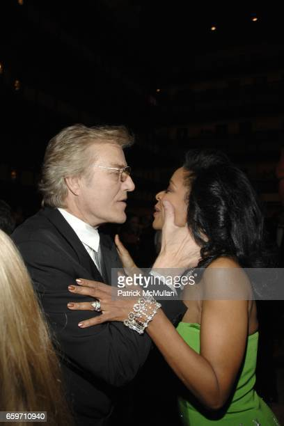 Peter Martins and Pamela Joyner attend THE SCHOOL OF AMERICAN BALLET Winter Ball 2009 at David H Koch Theater on March 9 2009 in New York City