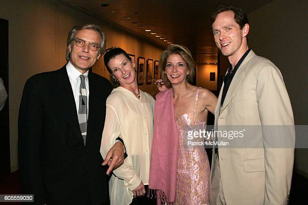 Peter Martins Darcy Kistler Candace Bushnell and Charles Askegard attend Nina Griscom and the New York City Ballet's Special Events and Working...