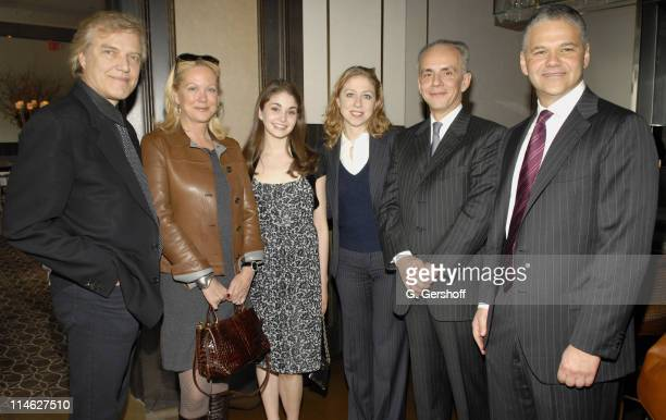 Peter Martins School of American Ballet Artistic Director and Chairman of Faculty Nina Griscom Event Host Kathryn Morgan Awardee Chelsea Clinton...