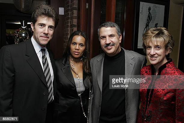 Peter Marx President of Saks Jandel Kai Milla fashion designer Tom Friedman and wife Anne Friedman