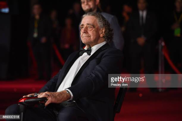 """Peter Mayhew attends Premiere Of Disney Pictures And Lucasfilm's """"Star Wars: The Last Jedi"""" - Arrivals at The Shrine Auditorium on December 9, 2017..."""
