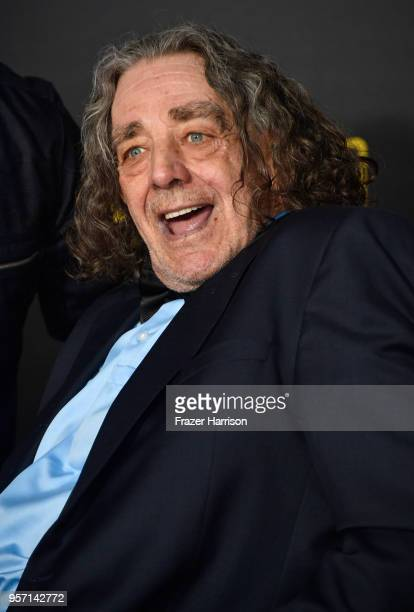 """Peter Mayhew attends the premiere of Disney Pictures and Lucasfilm's """"Solo: A Star Wars Story"""" at the El Capitan Theatre on May 10, 2018 in Los..."""