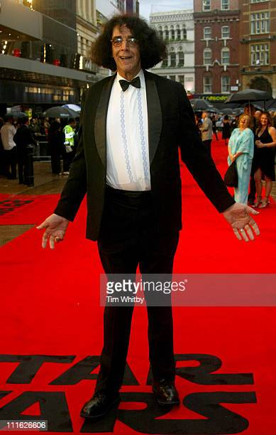 Peter Mayhew during Star Wars Episode III Revenge of the Sith London Premiere at Odeon Leicester Square in London Great Britain