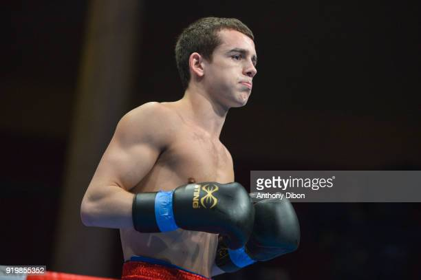Peter Mc Grail nduring World Series of Boxing event between Fighting Roosters and British Lionhearts at Salle Wagram on February 2 2018 in Paris...