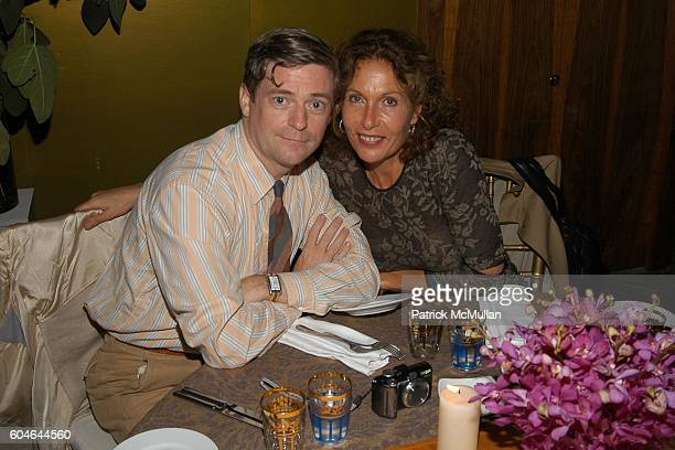 Peter McGough and Jacqueline Schnabel attend ZAC POSEN at VAKKO Private Dinner at Ulus 29 on September 29 2006 in Istanbul Turkey