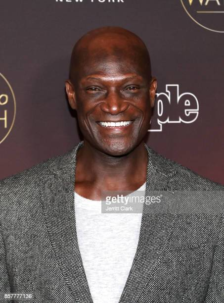 Peter Mensah attends People's 'Ones To Watch' at NeueHouse Hollywood on October 4 2017 in Los Angeles California