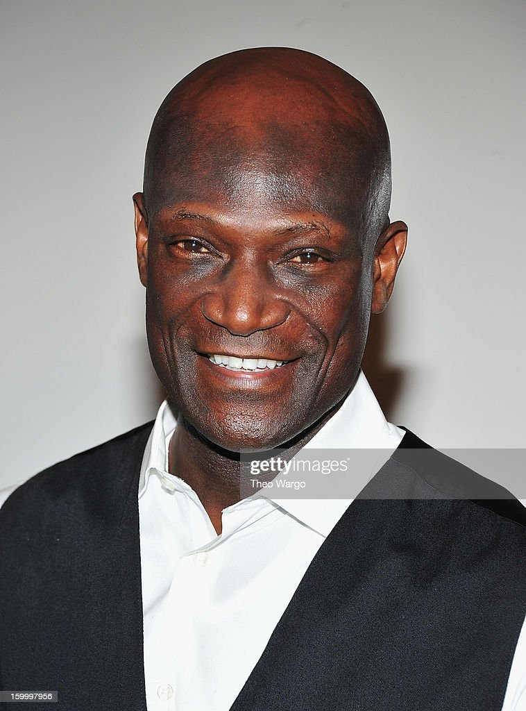 Peter Mensah attends 'Spartacus: War Of The Damned' Series Finale Premiere at MOMA on January 24, 2013 in New York City.