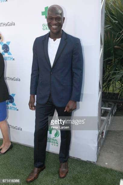 Peter Mensah attends the EARTHxGlobal Gala on April 21 2017 in Dallas Texas