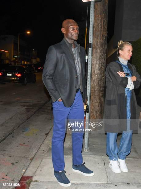 Peter Mensah is seen on November 09 2017 in Los Angeles California