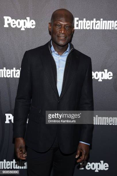 Peter Mensah of Midnight Texas attends Entertainment Weekly PEOPLE New York Upfronts celebration at The Bowery Hotel on May 14 2018 in New York City