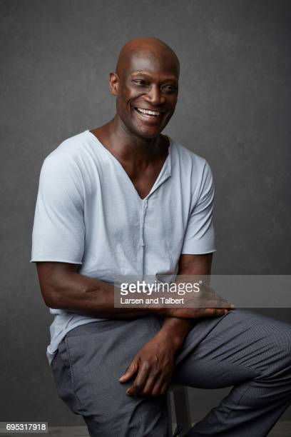 Peter Mensah of NBC's 'Midnight Texas' isphotographed Entertainment Weekly Magazine on June 9 2017 in Austin Texas
