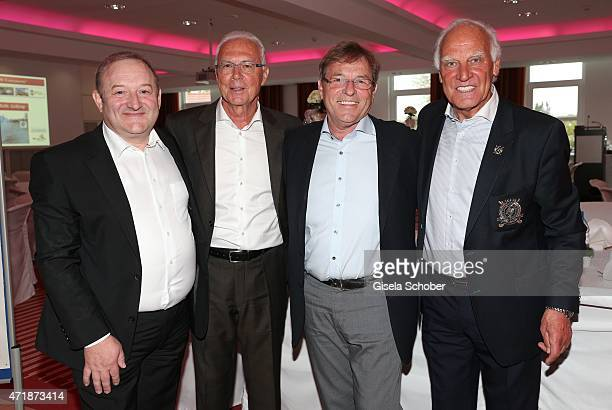 Peter Messner director Steigenberger Hotel 'Der Sonnenhof' Franz Beckenbauer Rudi Wiedemann president Golfclub zu Gut Ludwigsberg Franz 'Bulle' Roth...