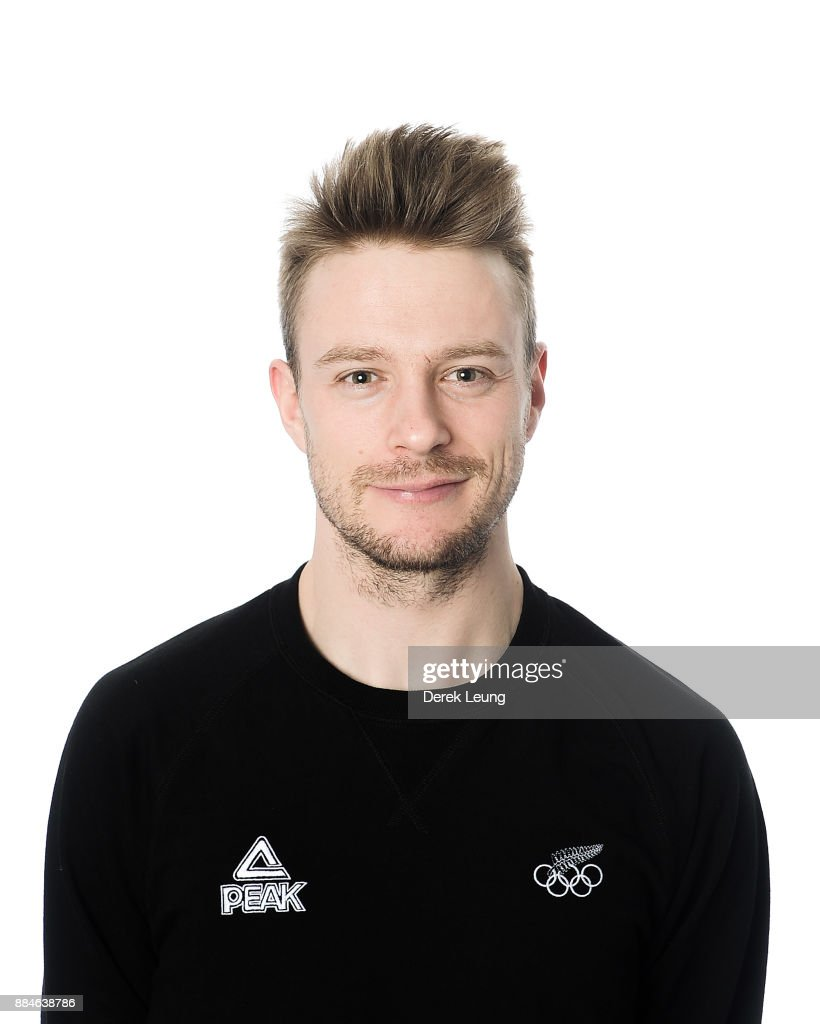 New Zealand Olympic Winter Games Speed Skating and Skelton Headshots Session