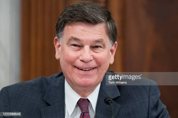 Peter Michael Thomson nominee to be inspector general of the Central Intelligence Agency testifies during his Senate Select Intelligence Committee...