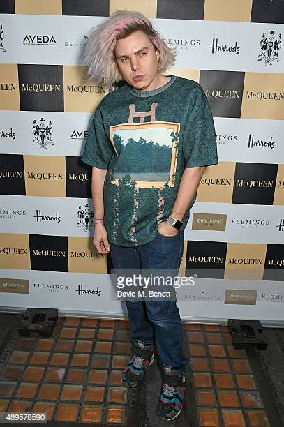 Peter Michael Wormleighton attends the exclusive viewing of 'McQueen' hosted by Karim Al Fayed for Lonely Rock Investments during London Fashion Week...