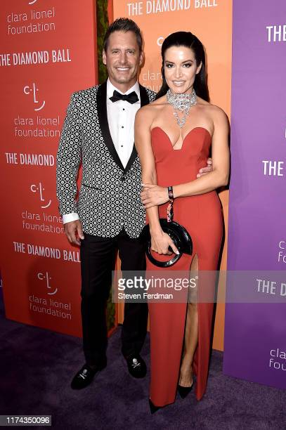 Peter Miller and Alessia Andrade attend Rihanna's 5th Annual Diamond Ball at Cipriani Wall Street on September 12, 2019 in New York City.