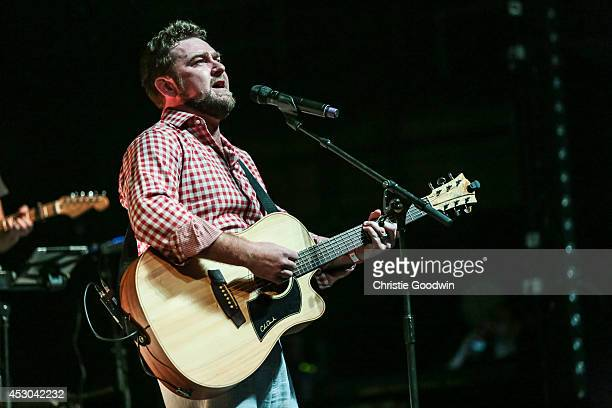 Peter Mitchell performs on stage for LondonGoesSA at Eventim Apollo Hammersmith on August 1 2014 in London United Kingdom