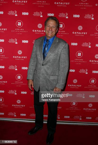 Peter Moore attends the Catalyst Content Awards Gala on October 13 2019 in Duluth Minnesota
