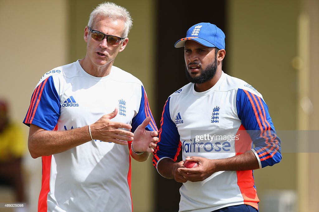England Nets Session In Antigua : News Photo
