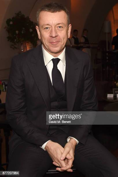 Peter Morgan attends the World Premiere after party for season 2 of Netflix 'The Crown' at Somerset House on November 21 2017 in London England