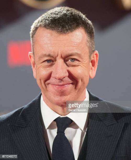 Peter Morgan attends the World Premiere of season 2 of Netflix 'The Crown' at Odeon Leicester Square on November 21 2017 in London England