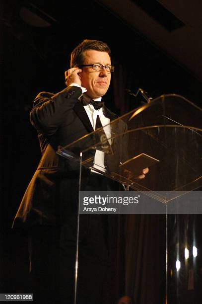 Peter Morgan Recipient of the Kanbar Award during 50th Annual San Francisco International Film Festival Film Society Awards Night at Westin St...