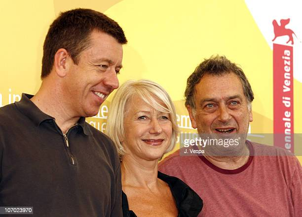Peter Morgan writer Helen Mirren and Stephen Frears director