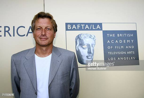 Peter Morris chairman BAFTA/LA arrives at the BAFTA/LAAcademy of Television Arts and Sciences Tea Party at the Century Hyatt on August 26 2006 in...