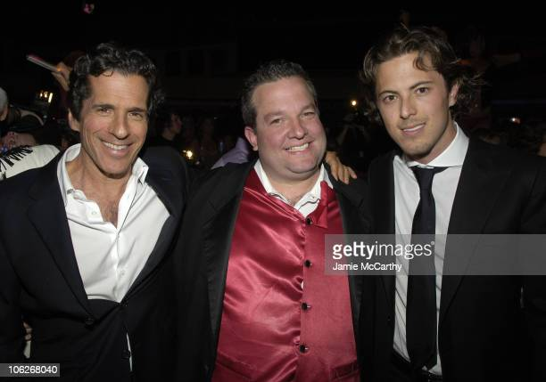 Peter Morton Jeff Beacher and Harry Morton during Beachers Comedy Madhouse Season Opener at Hard Rock Hotel and Casino in Las Vegas Nevada United...