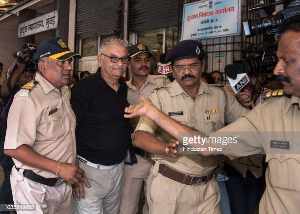 Peter Mukerjea accused in the Sheena Bora murder case at Bandra family court to file for divorce on September 17 2018 in Mumbai India Three years...