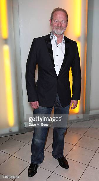 Peter Mullan attends 'The Man Inside' UK film premiere at the Vue Leicester Square on July 24 2012 in London England
