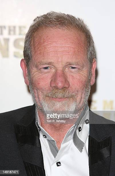 Peter Mullan attends the premiere of 'The Man Inside' at Vue Leicester Square on July 24 2012 in London England