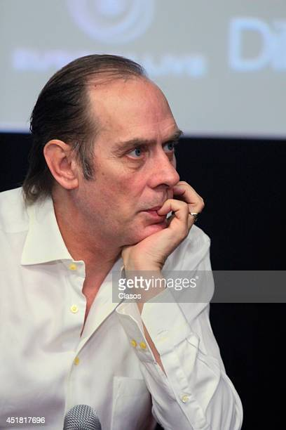 Peter Murphy presents his new album Lion during a press conference at Digital Cultural Centre Estela de Luz on July 07 2014 in Mexico City Mexico...
