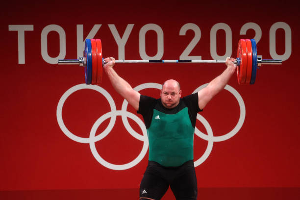 JPN: Weightlifting - Olympics: Day 12