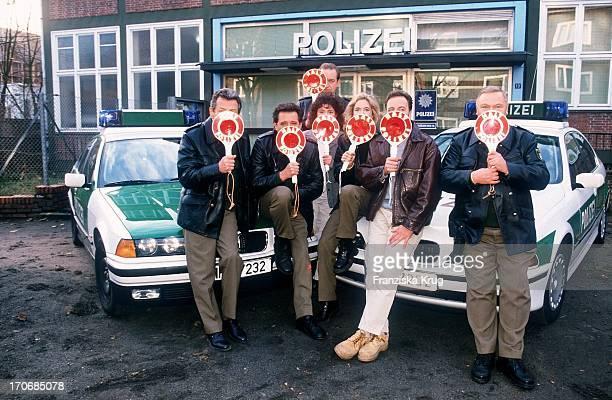 Peter Neusser + Jan Fedder + Maria Ketikidou + Peter Heinrich Brix + Dorothea Schenck + Till Demtröder + Edgar Hoppe Stellen Neue Staffel Der Ard...