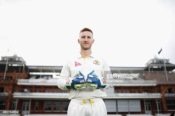 Peter Nevill of Australia poses during a Portrait Session at Lord's Cricket Ground on July 15 2015 in London England