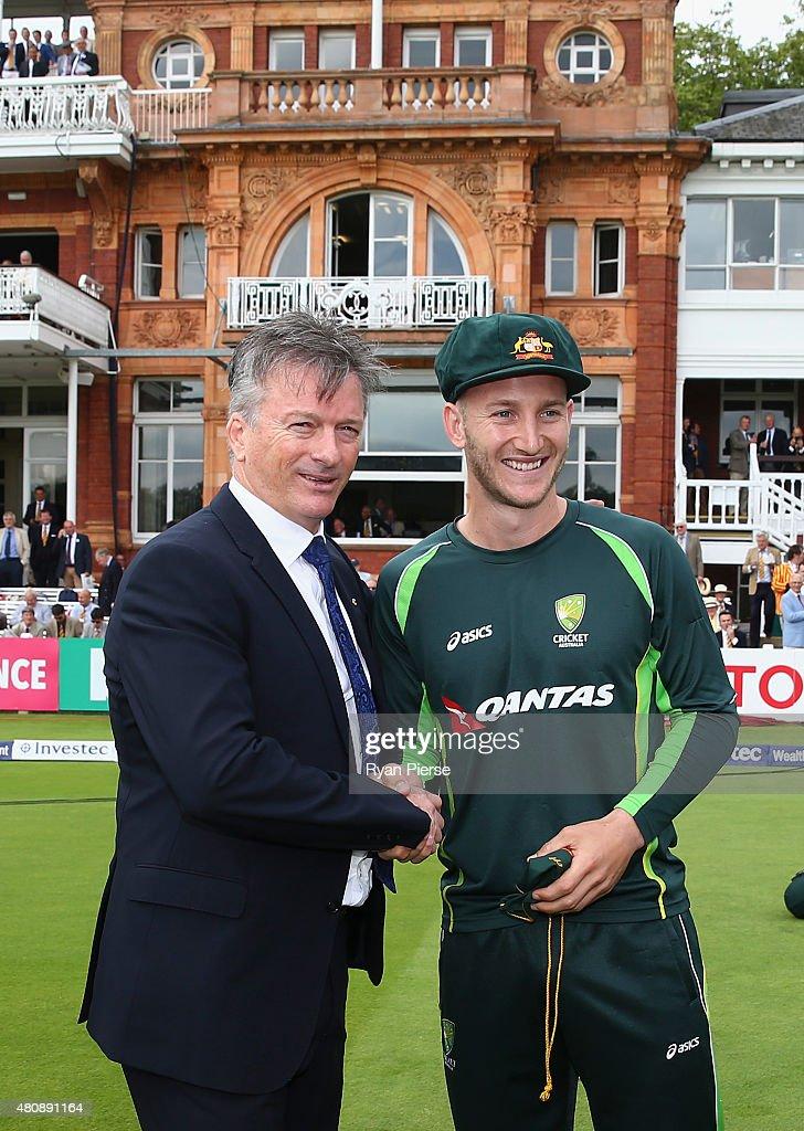 England v Australia: 2nd Investec Ashes Test - Day One : News Photo