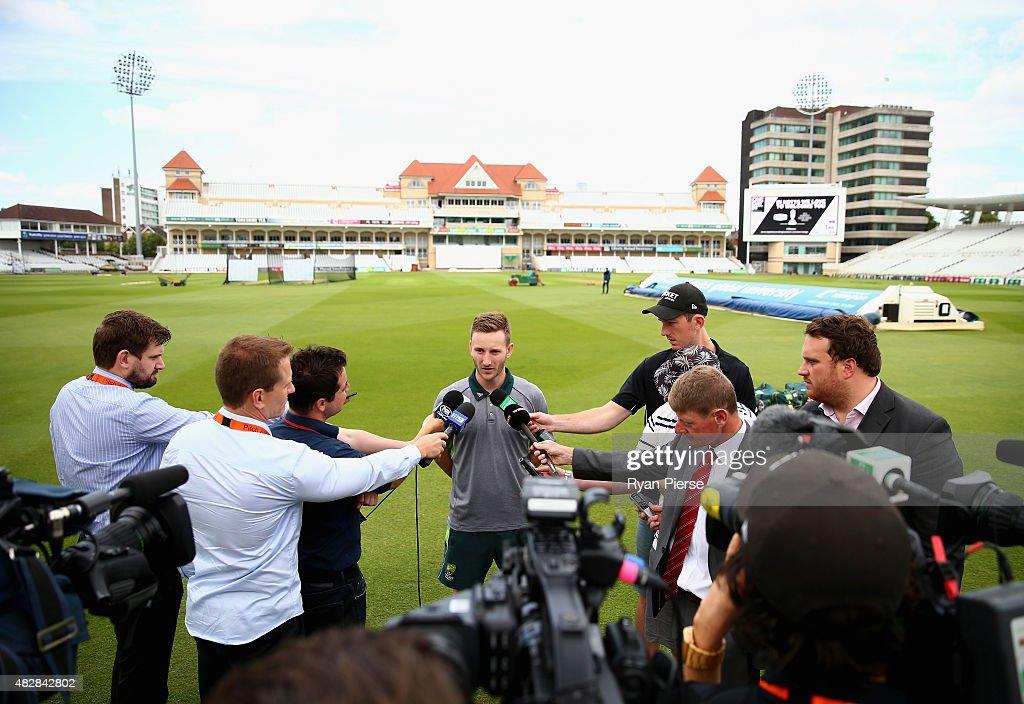 Australia & England Nets Session