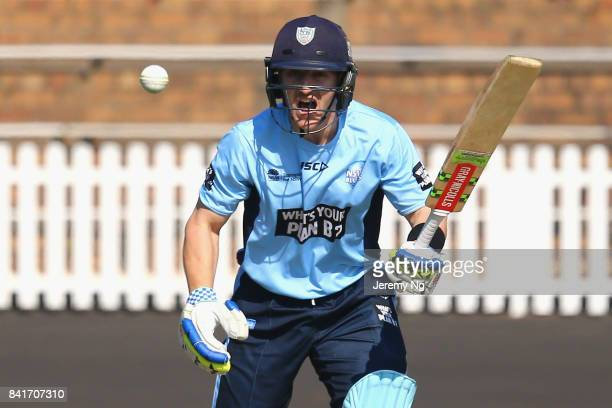 Peter Nevill of Cricket NSW bats during the Cricket NSW Intra Squad Match at Hurstville Oval on September 2 2017 in Sydney Australia