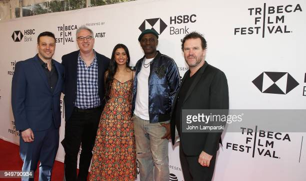 Peter Nickowitz Randi Manis Shunori Ramanathan Souleymane Sy Savane and Doug Hodge attend Jonathan during the 2018 Tribeca Film Festival at SVA...