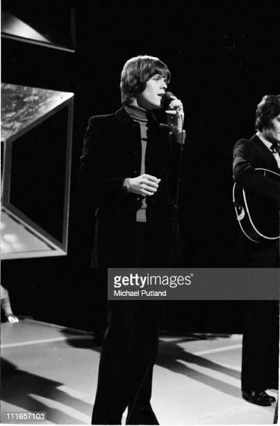 Peter Noone from Herman's Hermits performs on BBC TV Top of the Pops on 24th April 1969