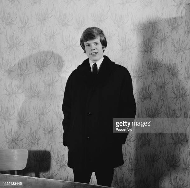 Peter Noone lead singer with English pop group Herman's Hermits in October 1964