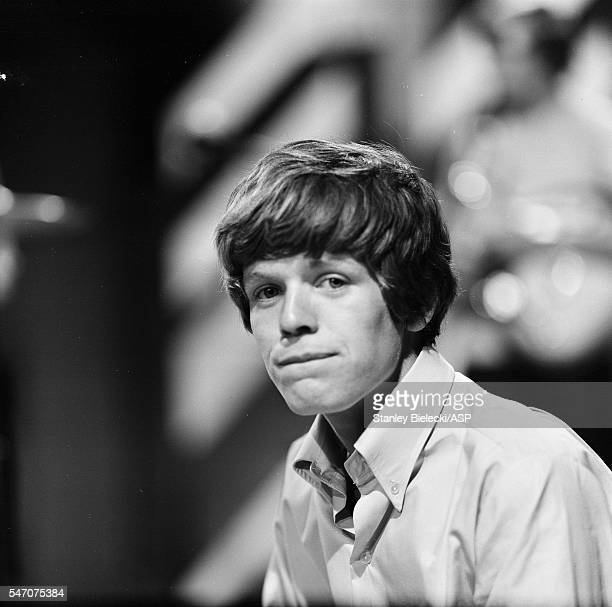Peter Noone of Herman's Hermits backstage Top Of The Pops TV show London 1965