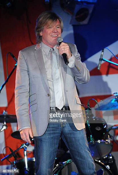 Peter Noone of Herman's Hermits performs at BB King Blues Club Grill on February 6 2015 in New York City