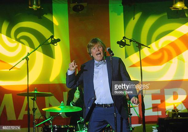 Peter Noone of Herman's Hermits performs at BB King Blues Club Grill on January 20 2017 in New York City