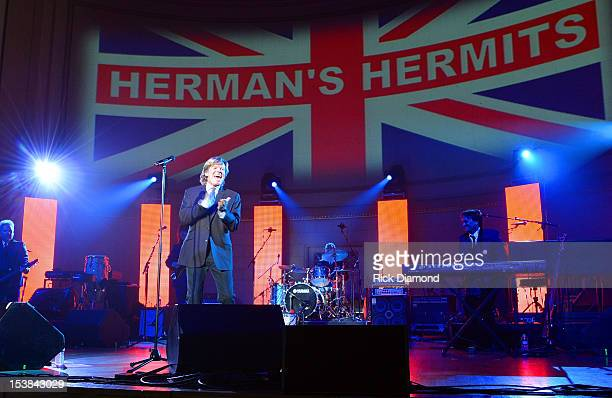 Peter Noone of Herman's Hermits performs during the Paradise Artists Party at IEBA Conference Day 3 at the War Memorial Auditorium on October 9 2012...