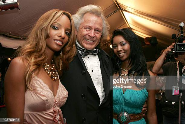 Peter Nygard and guests during 2005 Toronto Film Festival Water Premiere Arrivals at Roy Thompson Hall in Toronto Canada