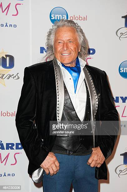 Peter Nygard arrives at The Norby Walters 25th Annual Night of 100 Stars Oscar Viewing Gala at The Beverly Hilton Hotel on February 22 2015 in...